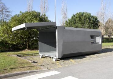 Compacteur déchets ville